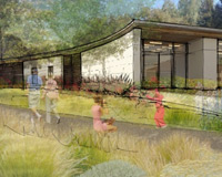 Atherton Library Rendering