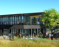 New Half Moon Bay Library rendering.