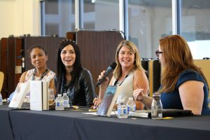 Panel of authors at YANovCon 2015.