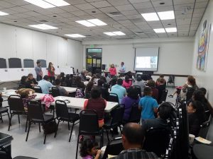 Community Meeting at East Palo Alto Library Source:Sereptha Strong