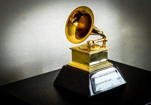 Ted Jensen's 2002 Grammy Award. Source: Obra derivada, Wikimedia CC BY 4.0.