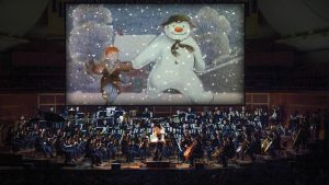 The film, The Snowman, accompanied by the San Francisco Symphony.