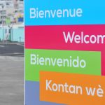 """Welcome"" in different languages."