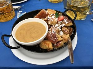 Kaiserschmarrn at the Oktoberfest. Source: Marco Verch, Flickr.