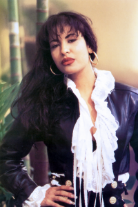 The Queen of Tejano music, Selena Quintanilla-Pérez.