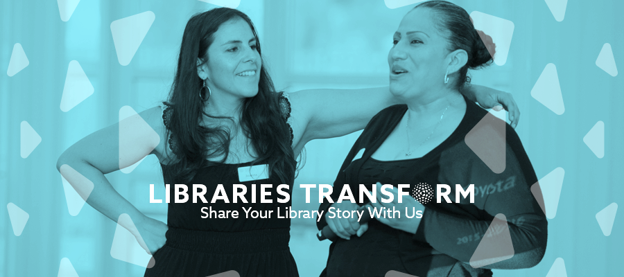 Share your Story: what does the library mean to you?