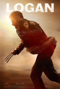 Poster for the Marvel movie Logan.