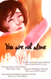 Teen Mental Health Poster Contest Finalist