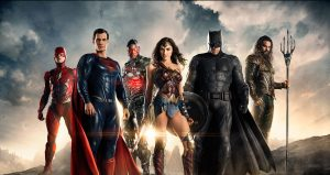 Publicity image for the Justice League Movie.