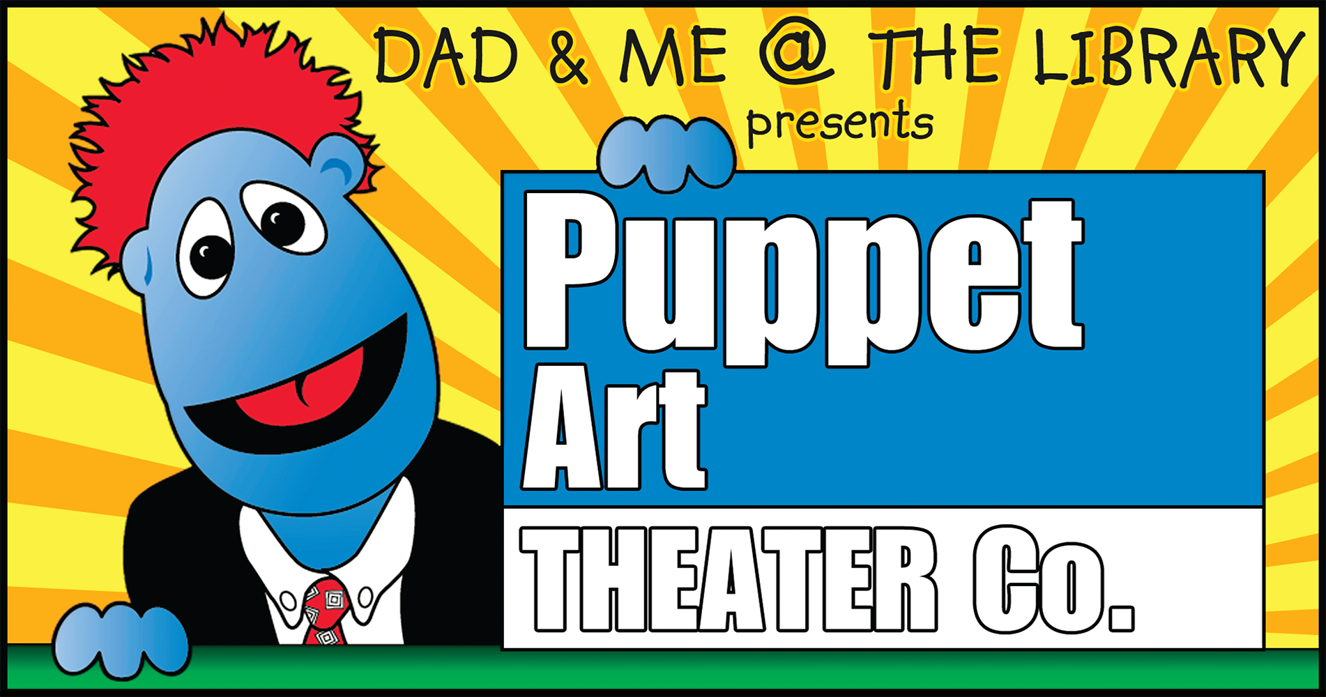 Dad & Me @ the Library presents Puppet Art Theater Co.