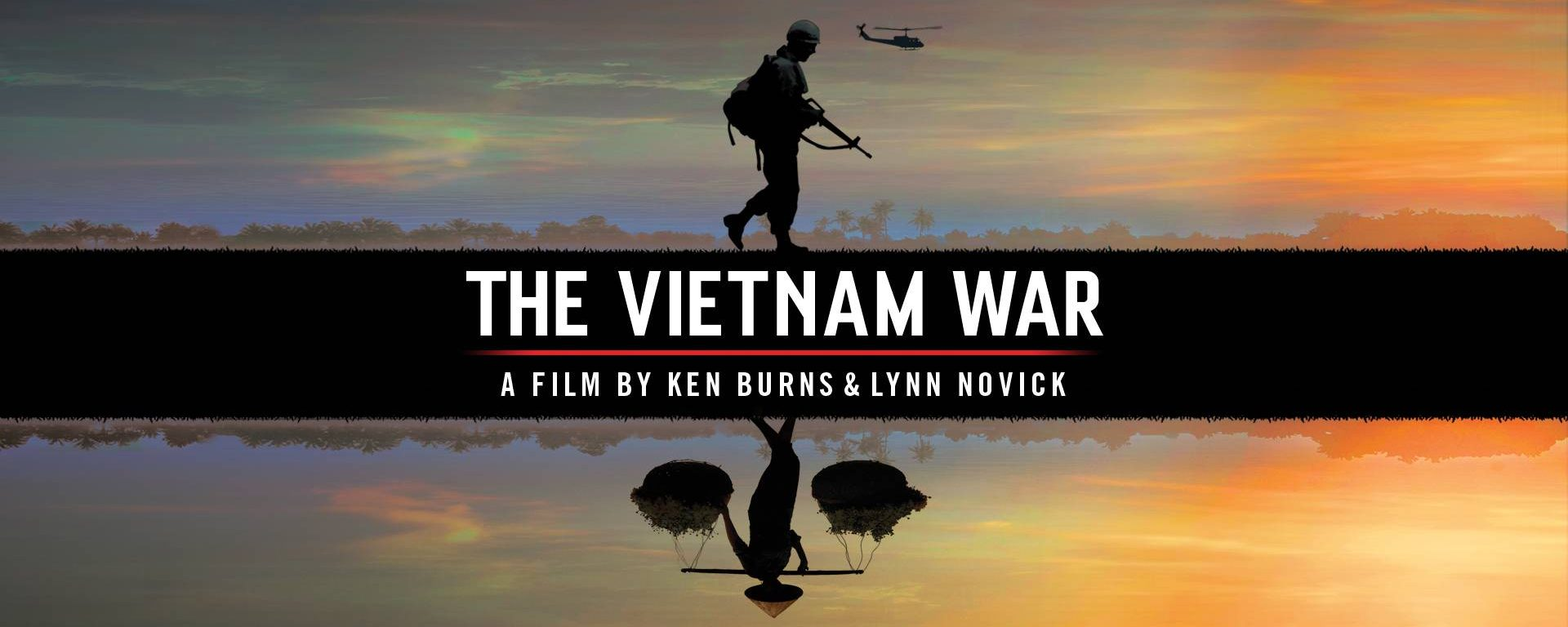 Cover for the film The Vietnam War.
