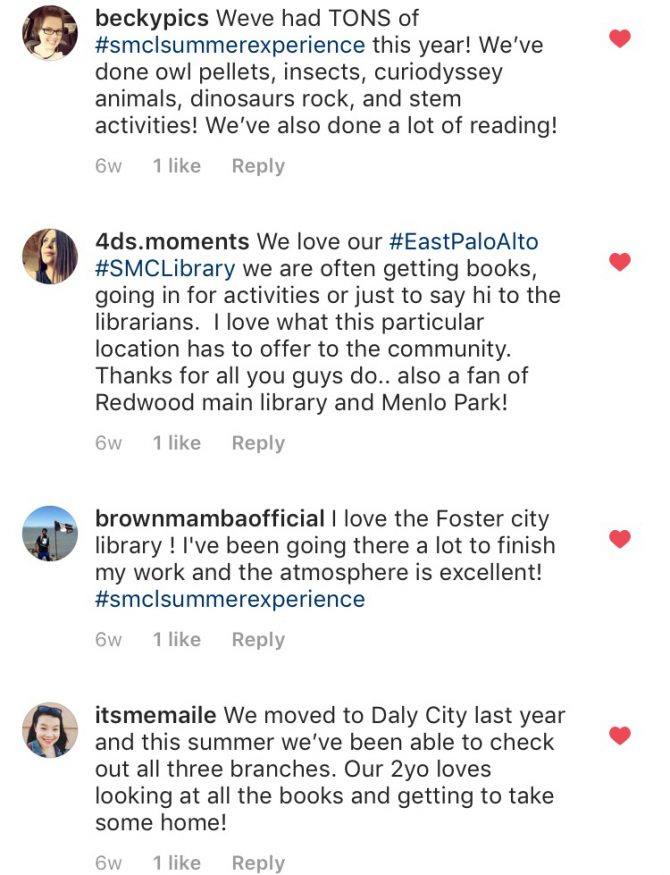 Instagram users @beckypics, @4ds.moments, @brownmambaofficial, @itsmemaile comment submissions